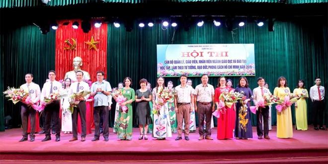 Ngành giáo dục thị xã Nghĩa Lộ tổ chức Hội thi Học tập, làm theo tư tưởng, đạo đức, phong cách Hồ Chí Minh năm 2019.